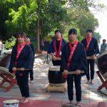 ชมรมการแสดงศิลปะญี่ปุ่นและกลองไทโกะ ร่วมการแสดงในพิธีเปิดอนุสรณ์สันติภาพโลก